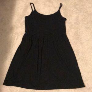 Gap black sundress w/ adjustable straps